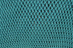 Fishing net. Background in green tone stock photo