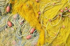 Fishing net background Stock Image