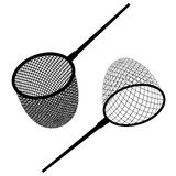 Fishing net black icon. Illustration for the web Stock Photography
