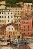 Fishing net, Camogli in Liguria Royalty Free Stock Photography