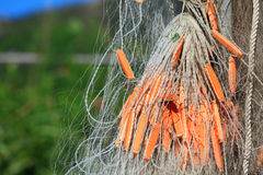 Fishing net close up Royalty Free Stock Photography