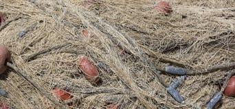 Fishing net closeup photo Stock Image