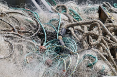 Fishing Net Detail Royalty Free Stock Photography