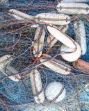 Fishing net equipment close up Stock Photography