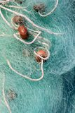 Fishing net and gear for professional Royalty Free Stock Photo