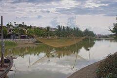 Fishing net in Hoi An Stock Photo
