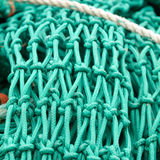 Fishing net knot details Stock Photos