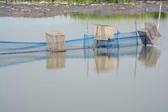 Fishing net near rajarhat north 24 pargana