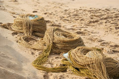 Fishing Net On The Ocean Royalty Free Stock Photography