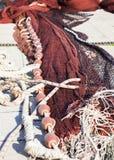 Fishing net - seen in Genoa Stock Photo