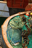Fishing net. Royalty Free Stock Photography
