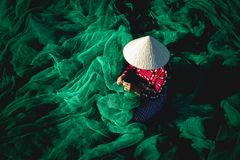 The fishing net stock photos
