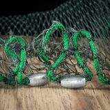 Fishing net weights Stock Photography