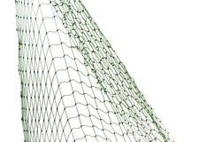 Fishing net on white background. Closeup view royalty free stock photos