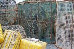Fishing nets royalty free stock photos