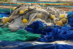 Free Fishing Nets Royalty Free Stock Photo - 16759365