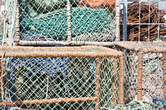 Fishing nets Royalty Free Stock Photography