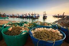 Free Fishing Nets Stock Photo - 25383990