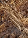 Fishing nets. A background image of some fishing nets Royalty Free Stock Photo