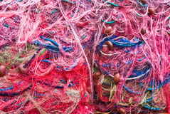 Fishing nets. Royalty Free Stock Photo