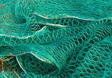 Fishing nets Stock Photos