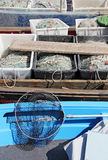 Fishing nets 2a Royalty Free Stock Image