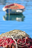 Fishing nets Royalty Free Stock Image