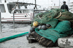 Fishing nets Stock Photography