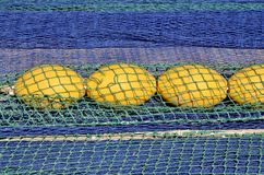 Fishing nets Royalty Free Stock Image