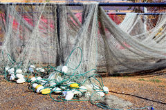 Fishing Nets Drying Royalty Free Stock Images