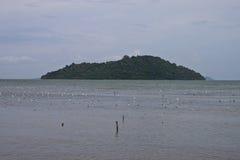 Fishing nets on Koh Tonsay island Stock Images