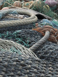 Fishing nets Royalty Free Stock Images