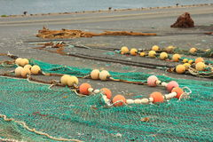 Fishing nets Stock Image