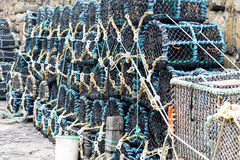 Fishing Nets (Stacked) Stock Photos