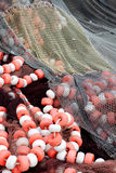 Fishing nets stacked Stock Photography