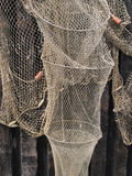Fishing nets traps Royalty Free Stock Images