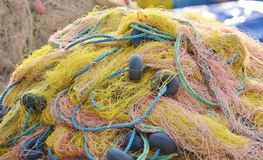 Fishing Nets Royalty Free Stock Photos