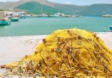Fishing network Royalty Free Stock Image