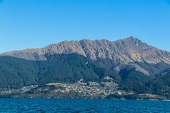 Fishing New Zealand South Island lakes and mountains. New Zealand lakes, mountains and fishing in the summer of 2019 royalty free stock photos