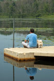 Fishing pals Stock Photo