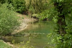 Fishing paradise Stock Photo