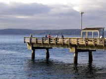 Fishing Pier Stock Photos