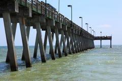 Fishing pier royalty free stock image