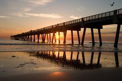 Free Fishing Pier Royalty Free Stock Image - 14082776