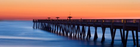Fishing Pier Royalty Free Stock Images