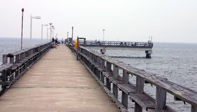 The Fishing Pier Stock Image