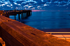 From the fishing pier Royalty Free Stock Photo