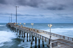 Fishing Pier Atlantic Ocean Nags Head North Carolina Stock Photography
