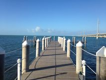 Fishing Pier and Dock Stock Photography