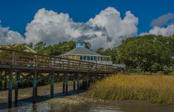 The fishing pier Stock Photography